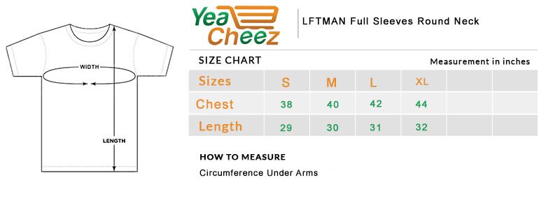 LFTMAN Full Sleeves Round Neck