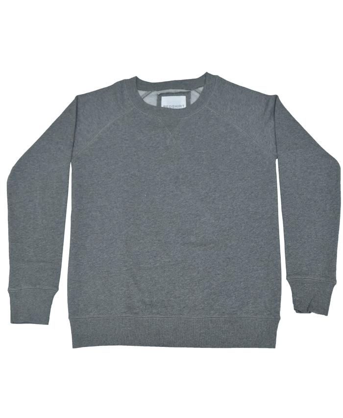 Sweat Towel On Neck: RedShirt Round Neck Sweat Shirt