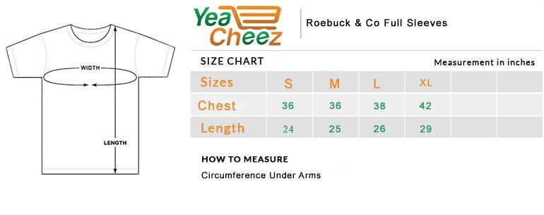 Roebuck & Co NYC Go Wild Full Sleeves