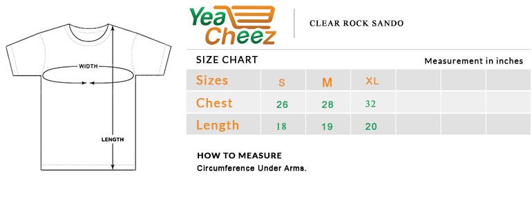 Clear Rock Sando Basic tank top