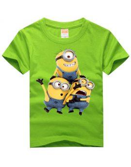 cd337ffe Minion Cartoon O-Neck Cotton T-shirt for Boys and Girls – YeaCheez ...