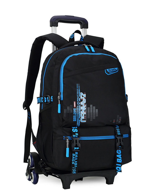 10e4f1a075 Trolley School bag Removable Backpack 2-6 Wheels For Kids – YeaCheez ...