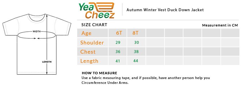 Autumn Winter Vest Duck Down Jacket