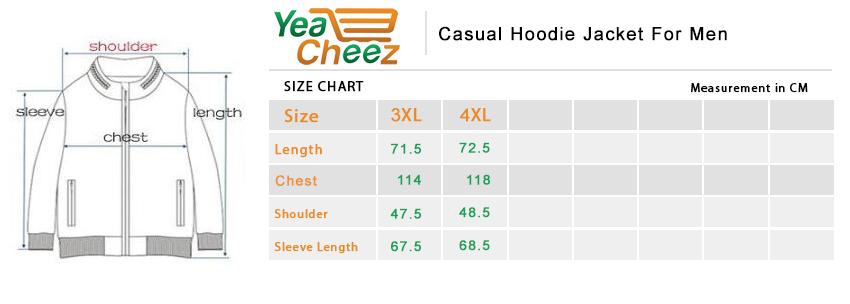 Casual Hoodie Jacket For Men