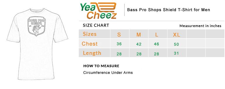 Bass Pro Shops Shield T-Shirt for Men