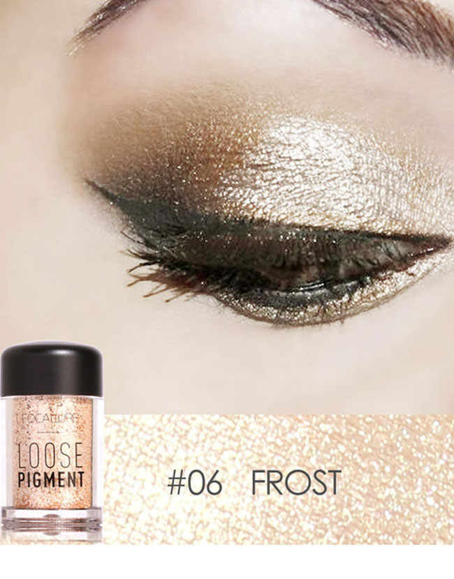 Glitter Eye Shadow Cosmetic Loose Makeup Eyes Pigment Powder