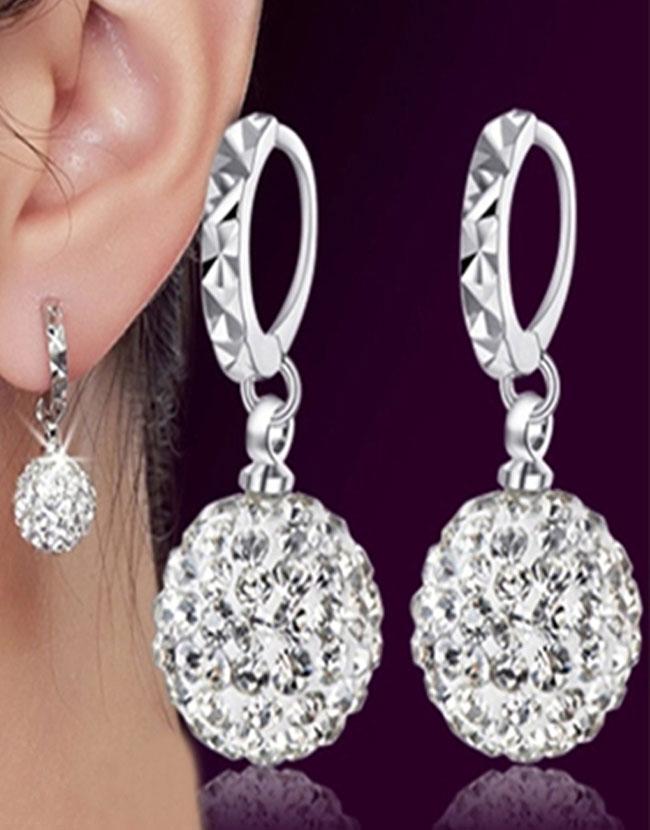 712b5abe2 Silver Vintage Luxury Globe Style Earrings – YeaCheez – Online ...